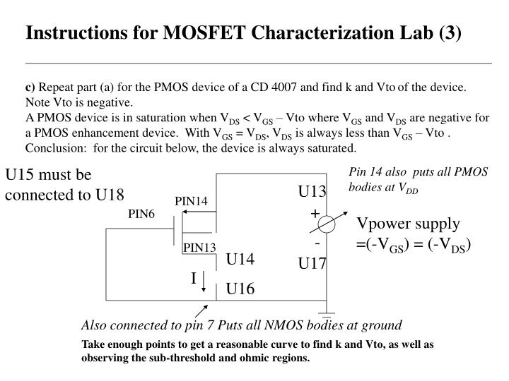 Instructions for MOSFET Characterization Lab (3)