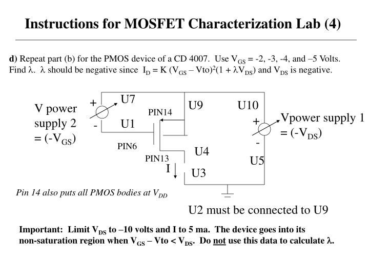 Instructions for MOSFET Characterization Lab (4)