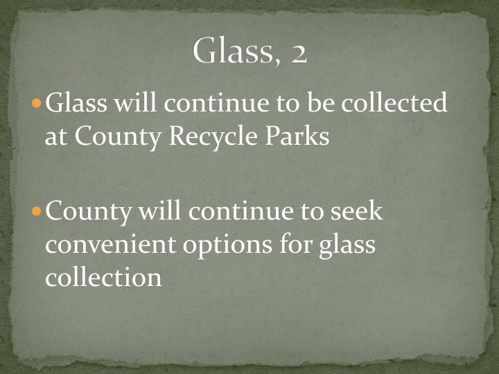 Glass, 2