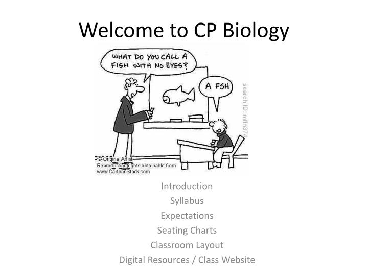 welcome to cp biology n.