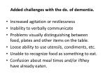 added challenges with the dx of dementia1