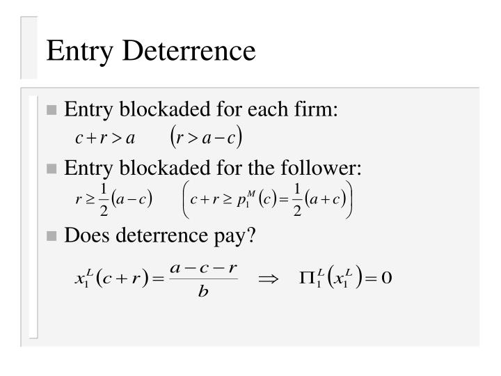 marginal deterrence is one of the One such objection deals with marginal deterrence: the result is that once the contrived nature of these upper limits on punishment is recognized, one sees immediately that the marginal deterrence problem is an inevitable fallout of the contrivances.