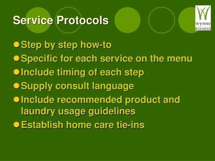 Service Protocols