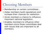 choosing members1