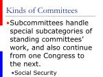 kinds of committees1
