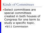 kinds of committees2