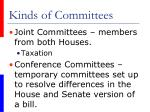 kinds of committees3
