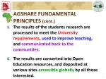 agshare fundamental principles cont1