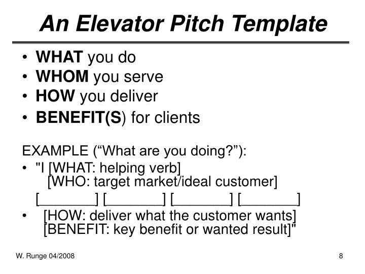 ppt the elevator pitch powerpoint presentation id 2690763