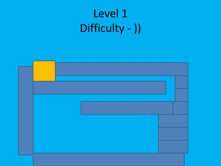 Level 1 difficulty