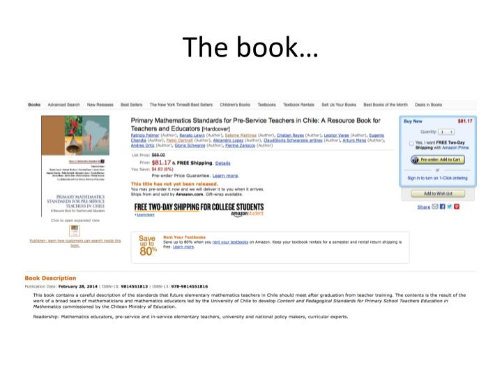 The book…