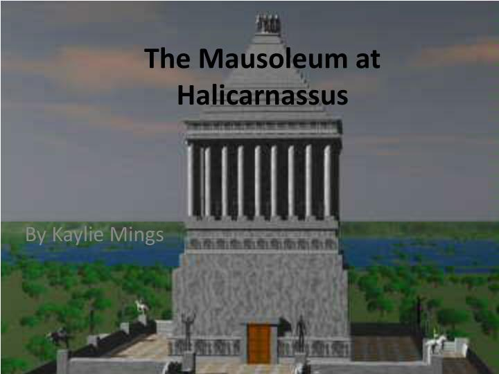 the mausoleum at halicarnassus n.