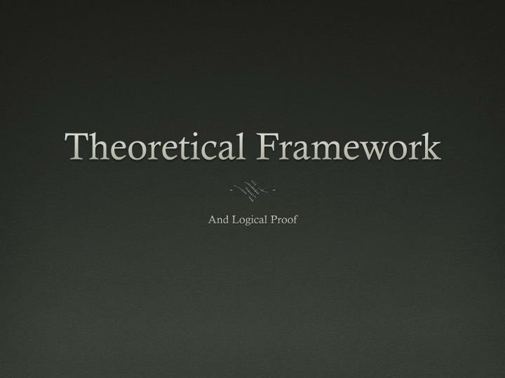 theoretical frameworks of human services