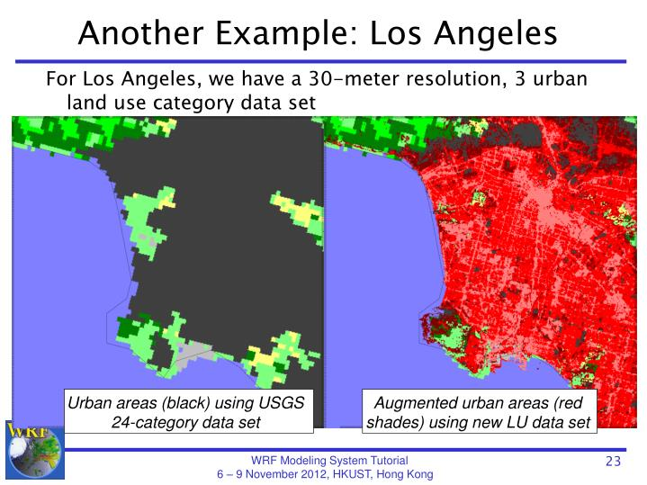 Another Example: Los Angeles
