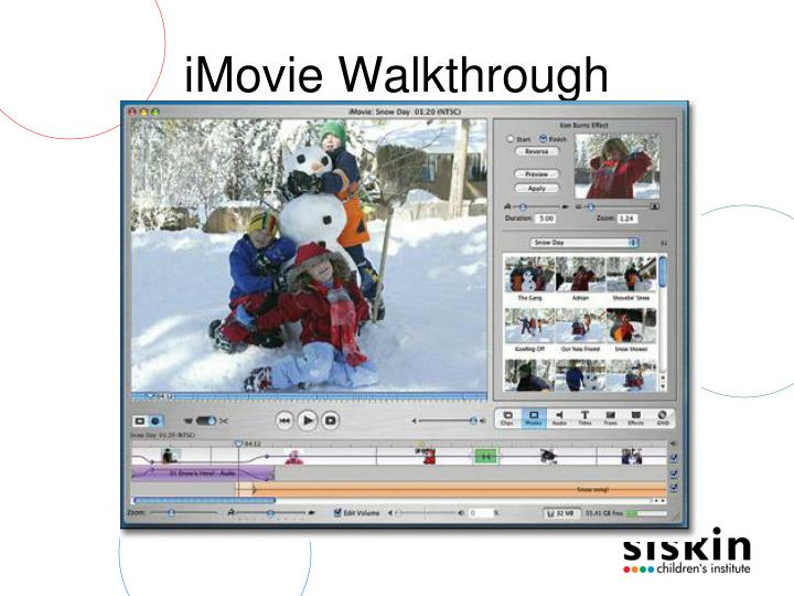 iMovie Walkthrough