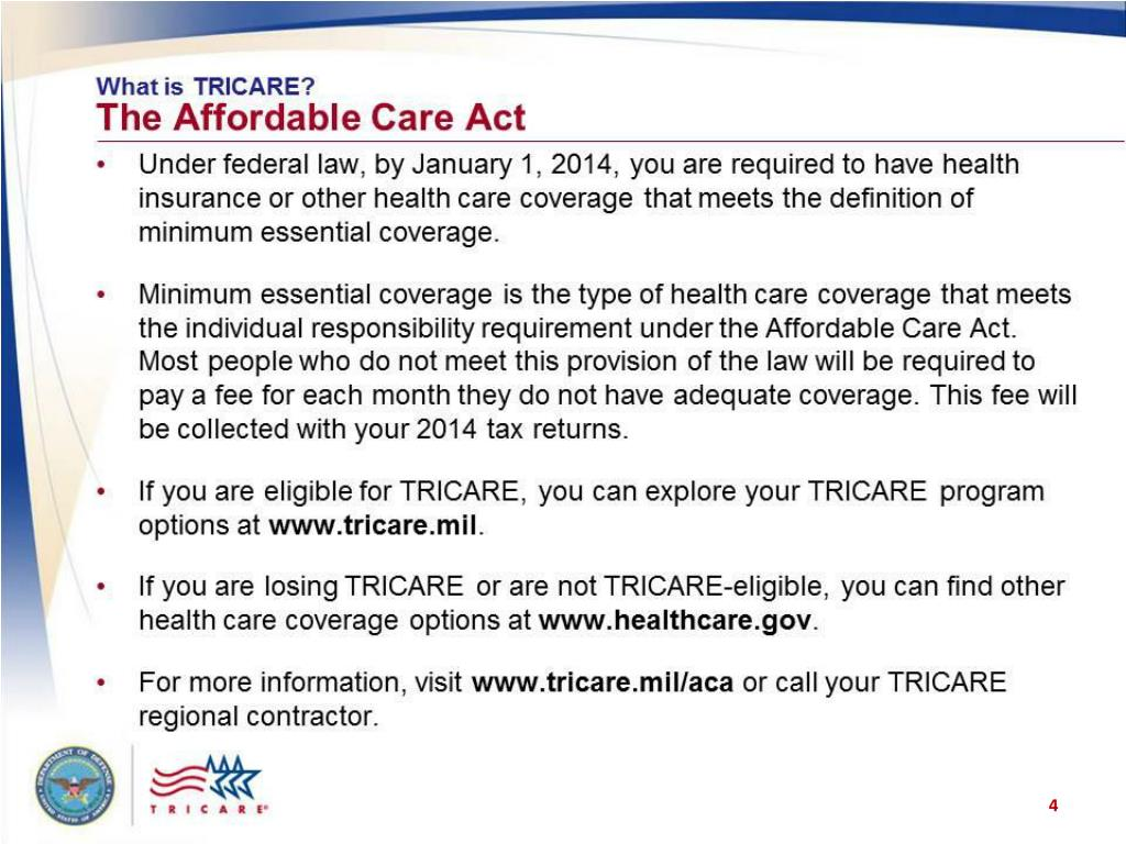 PPT - TRICARE Your Military Health Plan: Maternity and Newborn Care