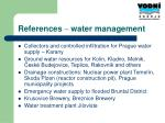 references water management