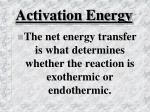 activation energy1
