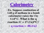 calorimetry8