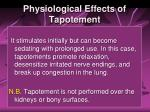 physiological effects of tapotement