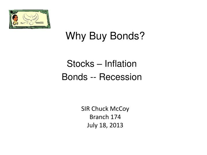 why buy bonds