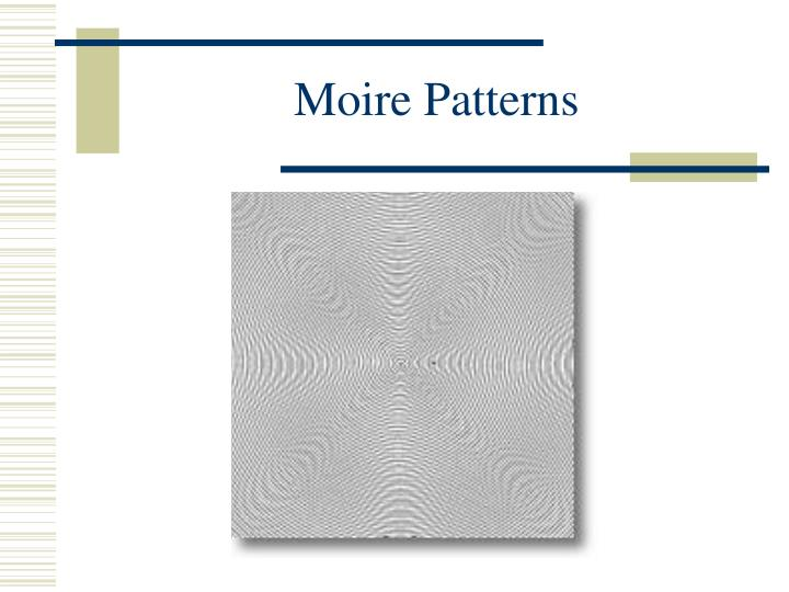 Moire Patterns