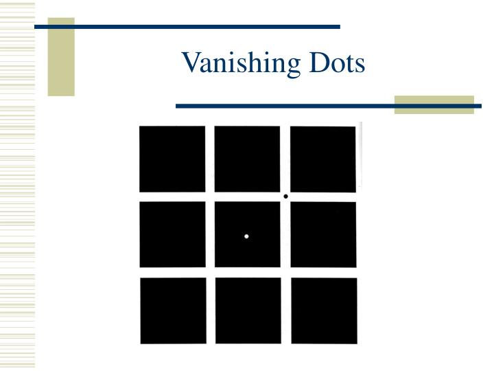 Vanishing Dots