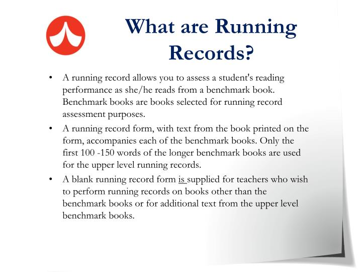 What are Running Records?