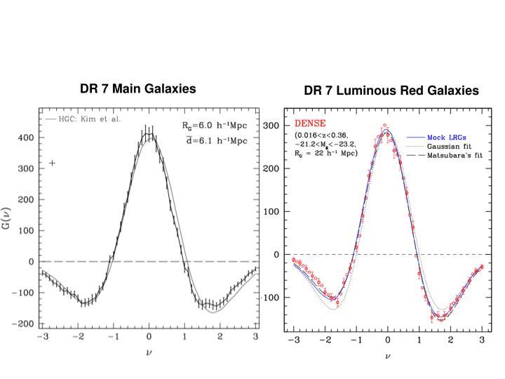 DR 7 Main Galaxies