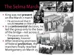 the selma march1