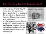 the twenty fourth amendment1
