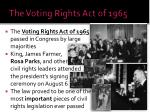the voting rights act of 19651