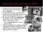 voter education project vep2