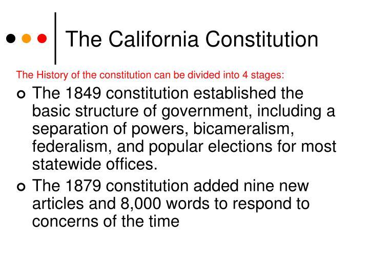 The california constitution2