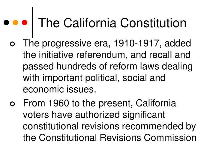 The California Constitution
