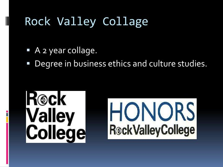 Rock valley collage