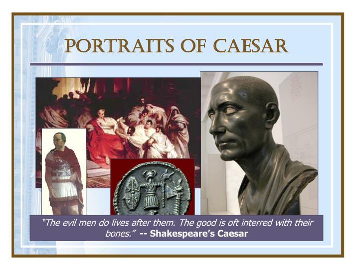 Portraits of Caesar