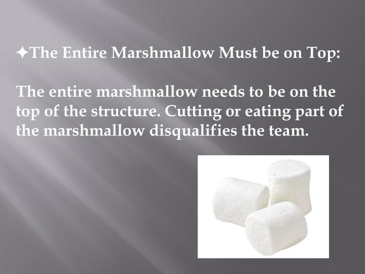 Ppt Marshmallow Challenge Powerpoint Presentation Id2693929
