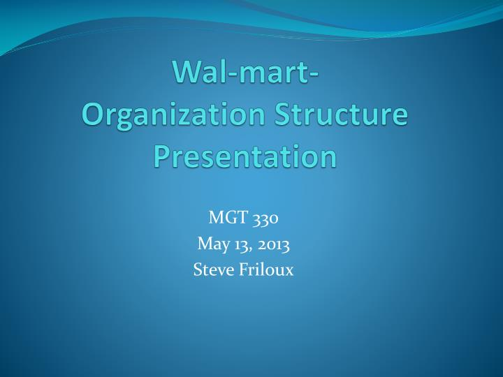 the importance of structure in a well organized presentation The importance of organizational structures in the implementation of a strategy is hard to overemphasize good strategy involves taking account of where a company finds itself in terms of the external market and its internal organizational structure strategy and implementation must cohere.