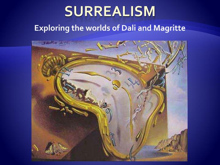 exploring the worlds of dali and magritte n.