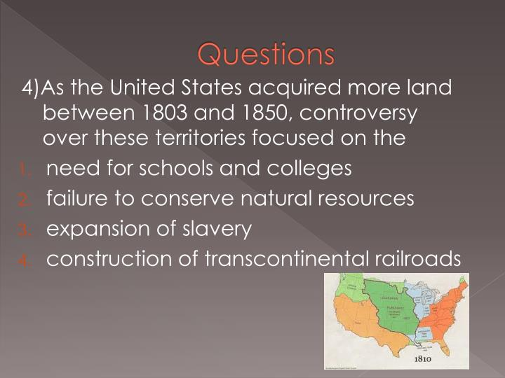 manifest destiny and slavery Manifest destiny contributed to secession and the civil war by bringing the slavery issue to the forefront 1) everytime a state entered the union, there was a negociation over slavery.