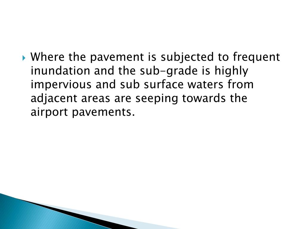 PPT - Airport drainage PowerPoint Presentation - ID:2694580