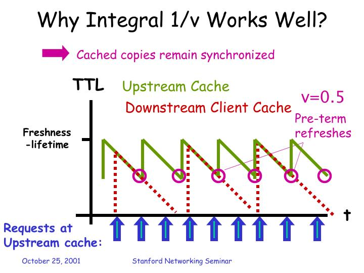 Why Integral 1/v Works Well?