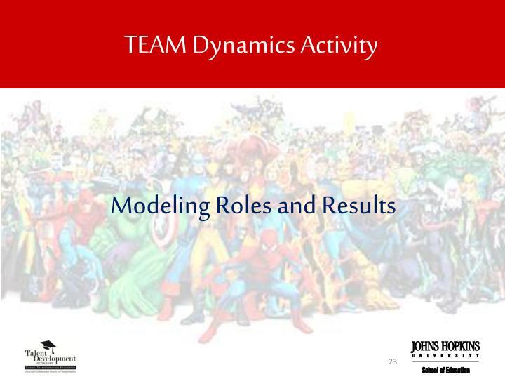 TEAM Dynamics Activity