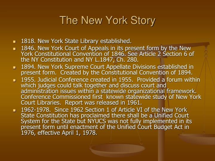 The new york story