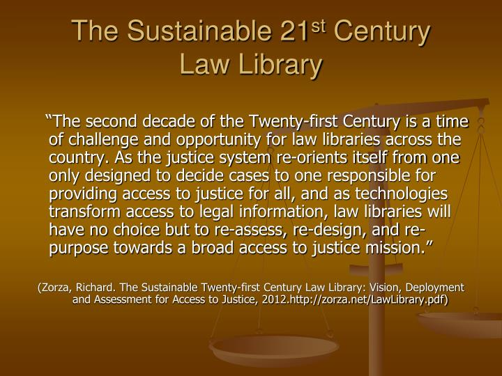 The Sustainable 21