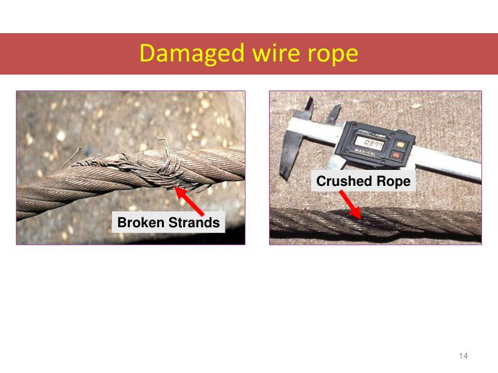 Funky Crushed Wire Rope Collection - Electrical Diagram Ideas ...