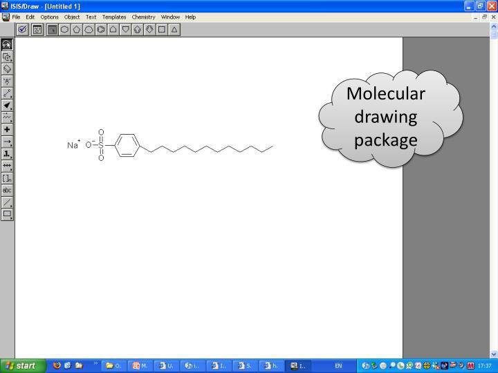 Molecular drawing package