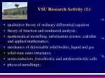 vsu research activity 1