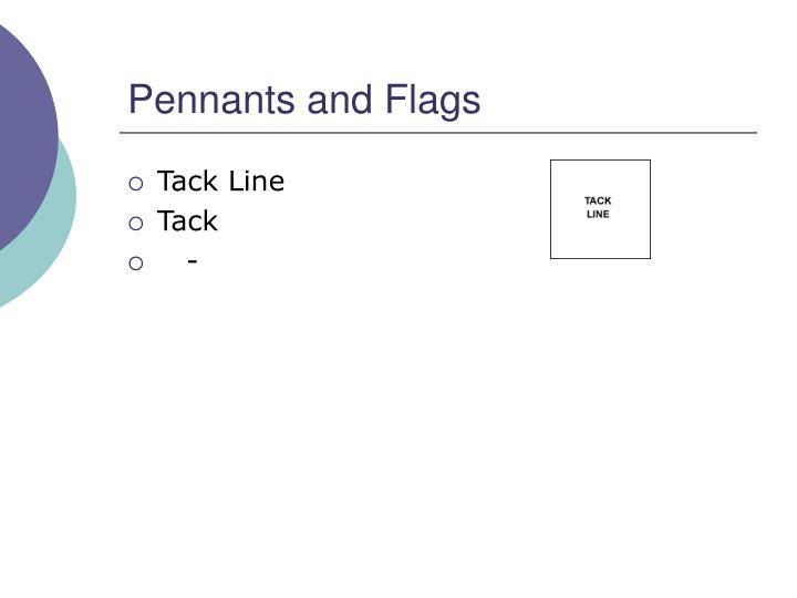 Pennants and Flags